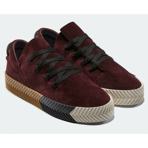 8e11e07d390c2 Adidas Alexander Wang Sneakers Burgundy – Nkatah Stores
