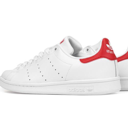 37efdd7a9b55e Adidas Stan Smith White Red – Nkatah Stores