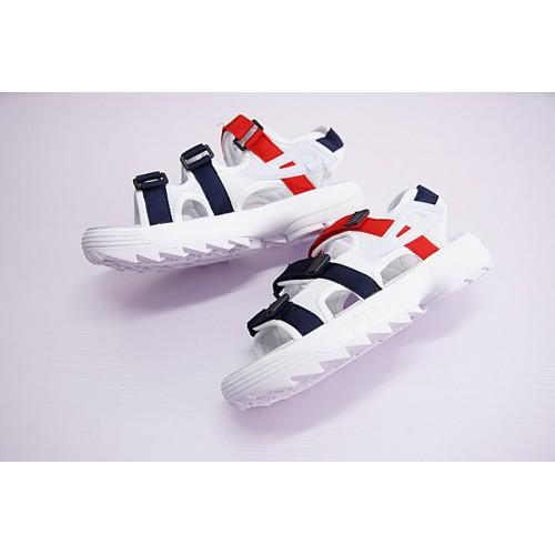 Nowa lista niesamowity wybór najlepsza strona internetowa FILA Disruptor II White-blue sandal
